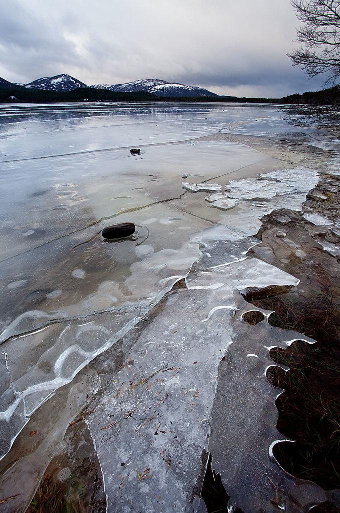 Loch Morlich ice