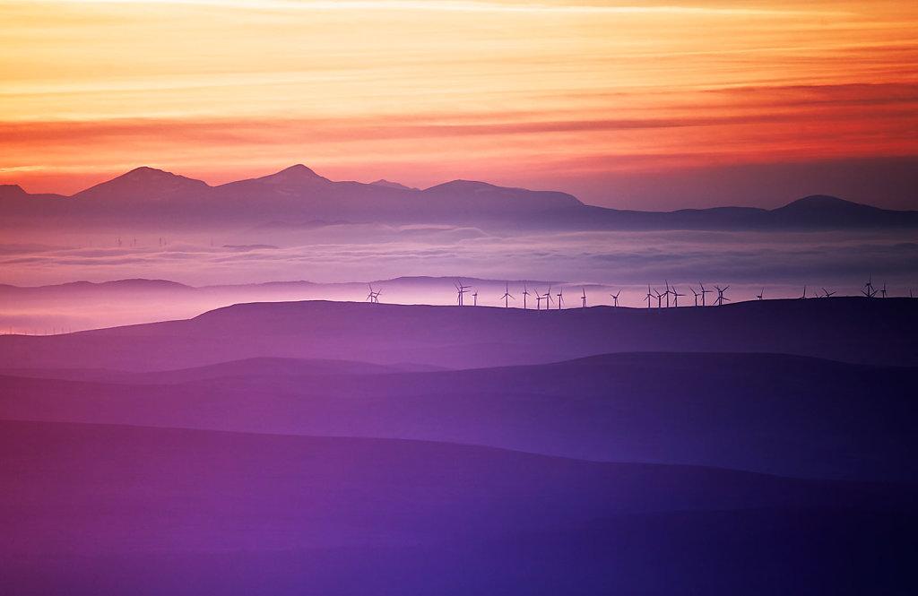 Waltzing windmills