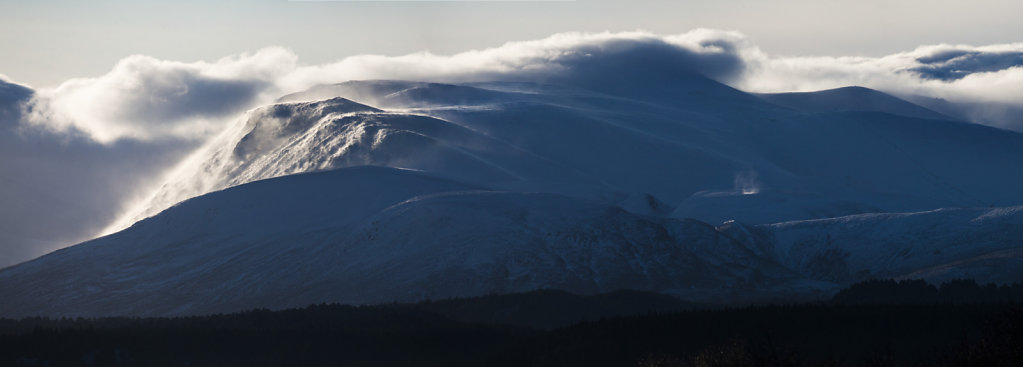 Cairngorms from Nethy