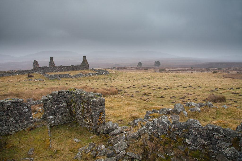 Abandoned crofts